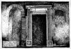Пл. Ринок, 2. Будинок Бандінеллі.<br />             Портал у тильній ізбі, на другому поверсі.<br />             Портал перенесений і вставлений у стіну.<br />             Зруйновано верхню частину. 27.03.1999
