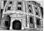 Будинок №30 по вул. Вірменській.<br />             Білокам'яний портал.<br />             16.10.1998