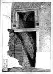Портал на тильному фасаді буд. №14, пл. Ринок.<br />             01.06.1999