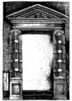 Портал у сінях будинку Корнякта,<br />             пл. Ринок, №6.<br />             26.05.1999