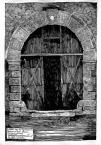 Буд. вул. Руська №4.<br />             Портал в'їзної брами. Головний фасад.<br />             06.05.1999