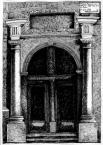Портал на фасаді будинку №9 пл. Ринок.<br />             31.05.1999