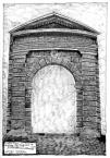 Портал на бічному фасаді будинку Бандінеллі.<br />             07.06.1999