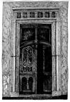 Портал на фасаді будинку №9,<br />             вул. Ставропігійська.<br />             24.05.1999