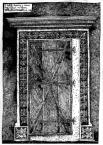 Портал у сінях.<br />             Будинок №21 на пл. Ринок.<br />             08.12.1998