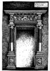 Кам'яний портал. Будинок №28, пл. Ринок.<br />             У світлиці першого поверху.<br />             27.05.1999