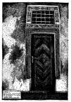 Чорна кам'яниця. Ринок, 4.<br />             Портал між крамницею та коміркою (1й поверх).<br />             10.01.1999