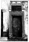 Чорна кам'яниця. Ринок, 4.<br />             Портал з сіней до малого приміщення.<br />             06.01.1998
